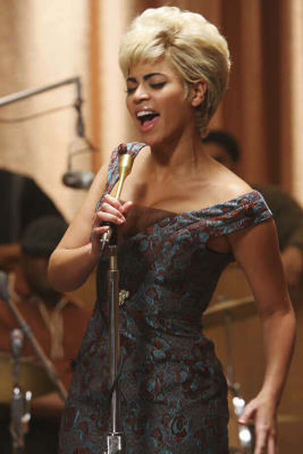 Beyoncé Knowles portrays Etta James Cadillac Records. Photo: Eric Liebowitz
