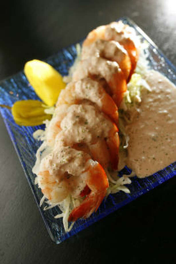 Jimmy Wilson's Seafood & Chop House Shrimp remoulade. Photo: Kevin Fujii, Chronicle