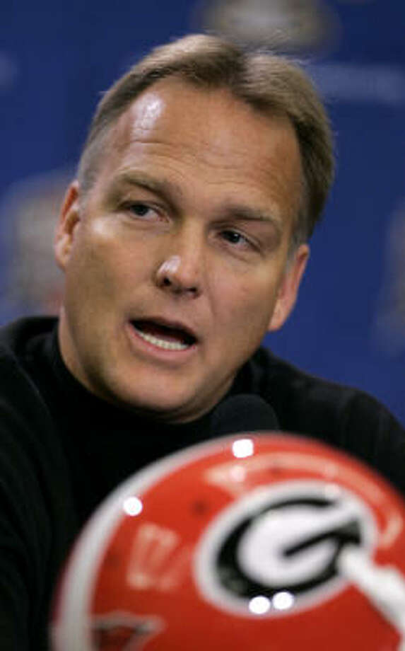 Georgia coach Mark Richt has declined Texas A&M's offer to be its next coach, according to a high-ranking A&M insider. Photo: Charlie Riedel, AP