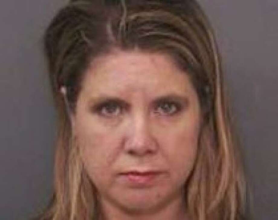 Shannon Kay Hrozek is accused of performing a sex act on a 16-year-old male student in her classroom after school. Photo: HARRIS COUNTYSHERIFF'S OFFICE