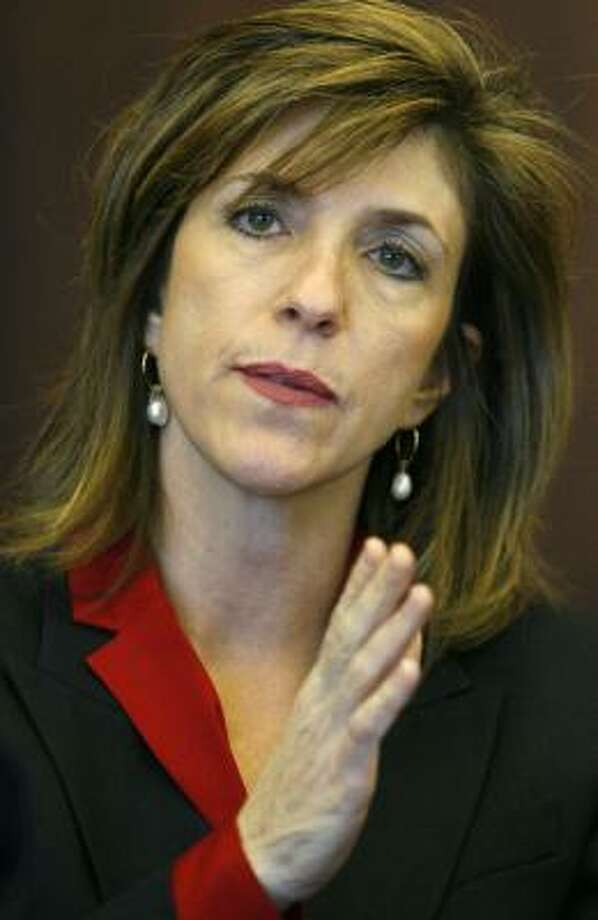 Kelly Siegler said she collected opinions from voters. Photo: KAREN WARREN, CHRONICLE