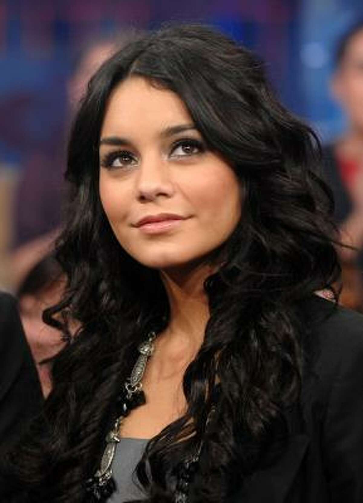 Vanessa Hudgens, pictured, co-stars in High School Musical 3: Senior Year with Zac Efron and Ashley Tisdale.