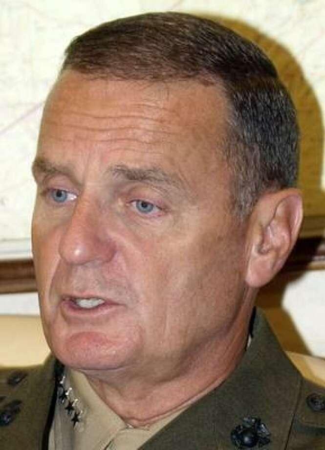 The energy expertise of retired Gen. James L. Jones is often overlooked. Photo: BURHAN OZBILICI, AP