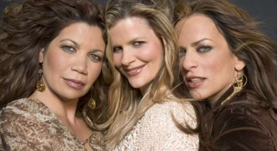The original members of Expose, from left, Jeanette Jurado, Ann Curless and Gioia Bruno, have reunited and will appear Friday at Planeta Bar-Rio. Photo: COURTESY OF EXPOSE