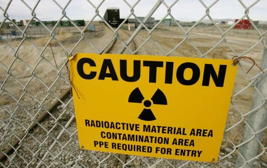 Waste Control Specialists, a Dallas-based firm, wants to install a radioactive waste dump, similar to this one in Clive, Utah, in Andrews County near the New Mexico border. Photo: DOUGLAS C. PIZAC, ASSOCIATED PRESS