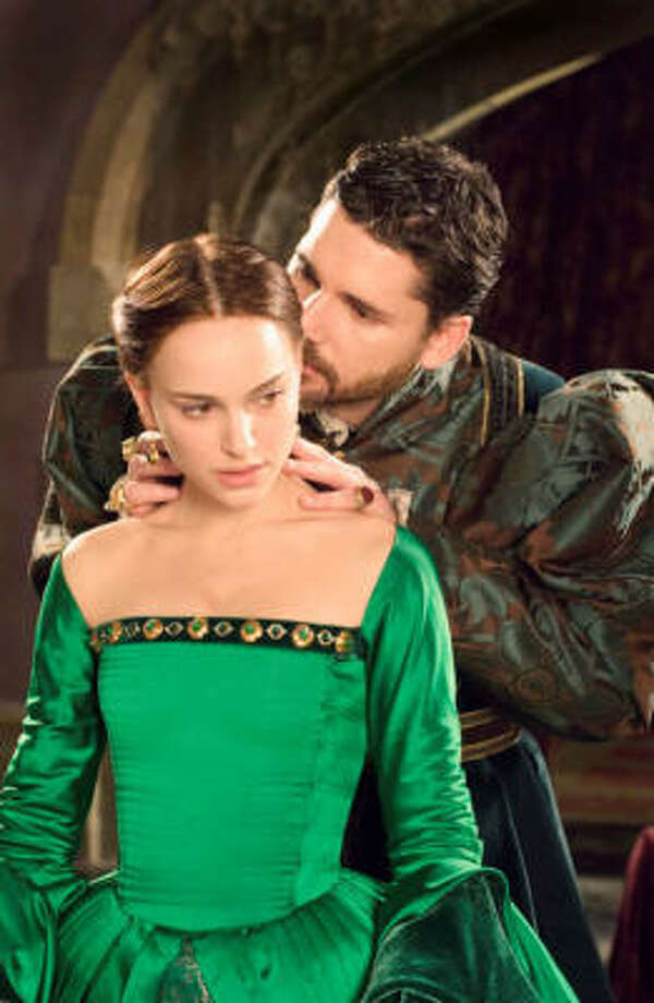 Natalie Portman stars as Anne Boleyn, who tries to win the affection of King Henry VIII in The Other Boleyn Girl. Photo: Focus Features