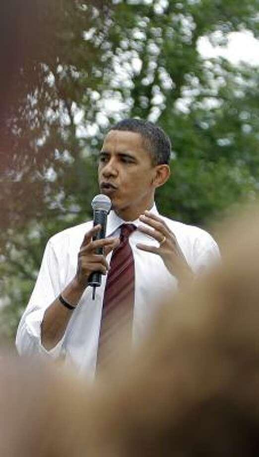 Critics say Democratic Sen. Barack Obama's latest remarks on abortion don't reflect his voting record. Photo: JAE C. HONG, ASSOCIATED PRESS