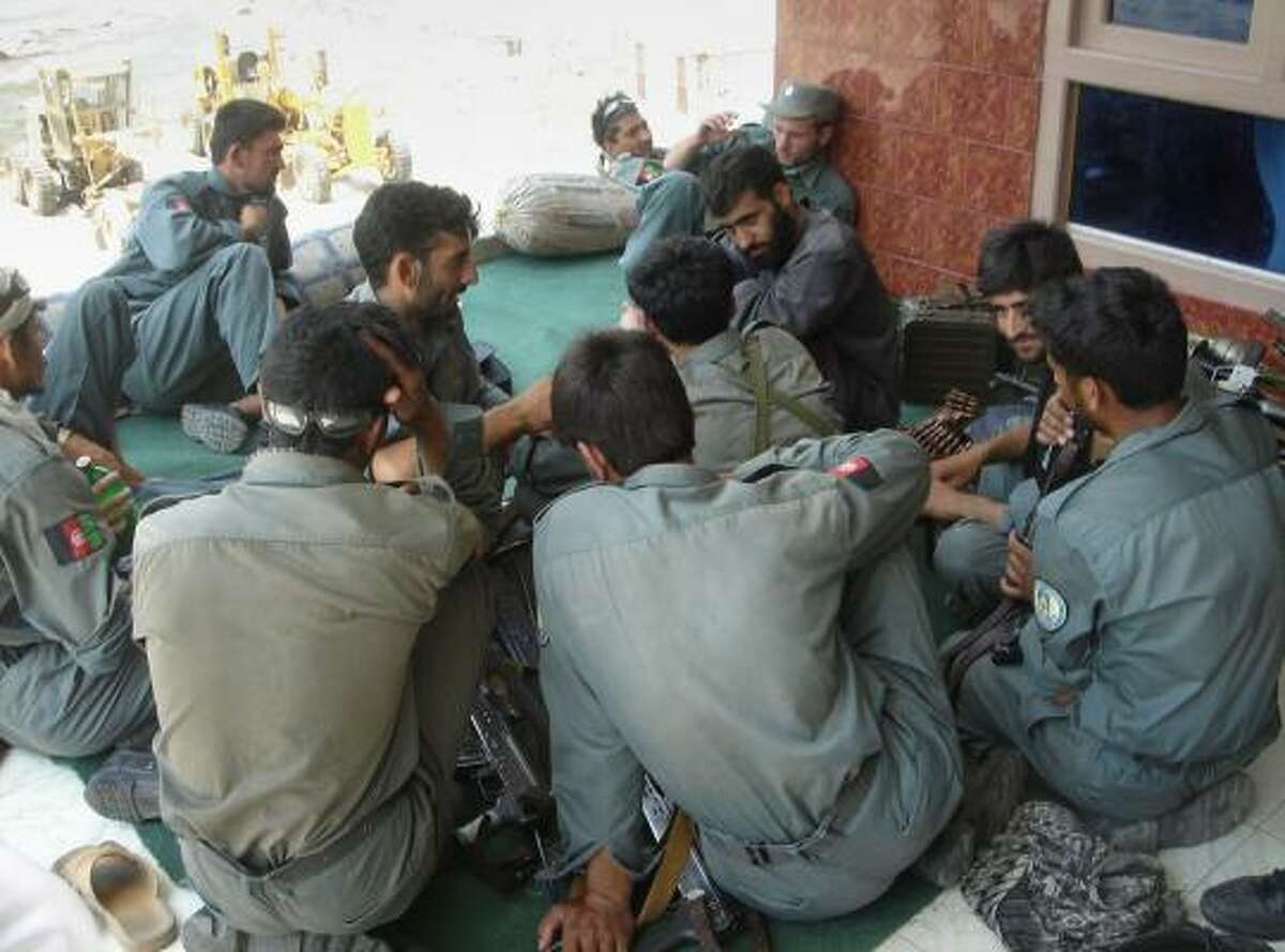Reinforcement Afghan police are expected to go to the village of Wanat in the Nuristan province of Afghanistan. Officials say a key route for al-Qaida recruits is from Central Asia into Nuristan province.