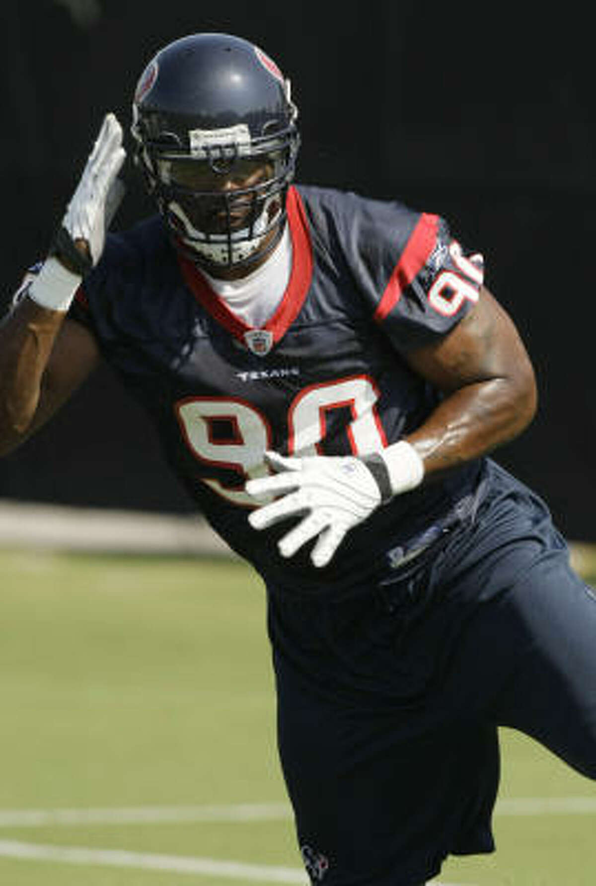 Defensive end Mario Williams is just on of the team's stars who'll need to play well in order for the Texans to have a winning season.