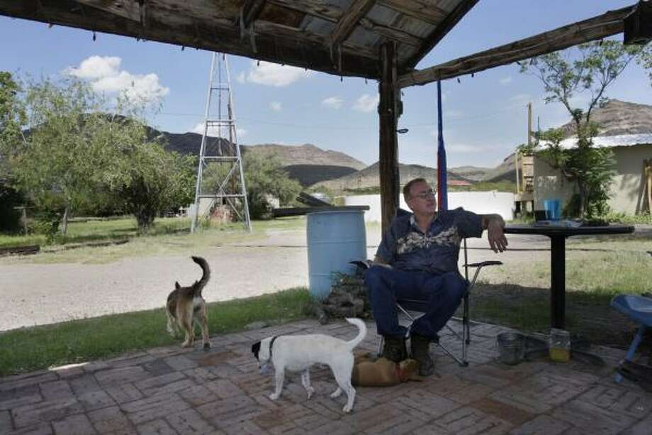 Revival of silver mine shakes up peaceful W  Texas town