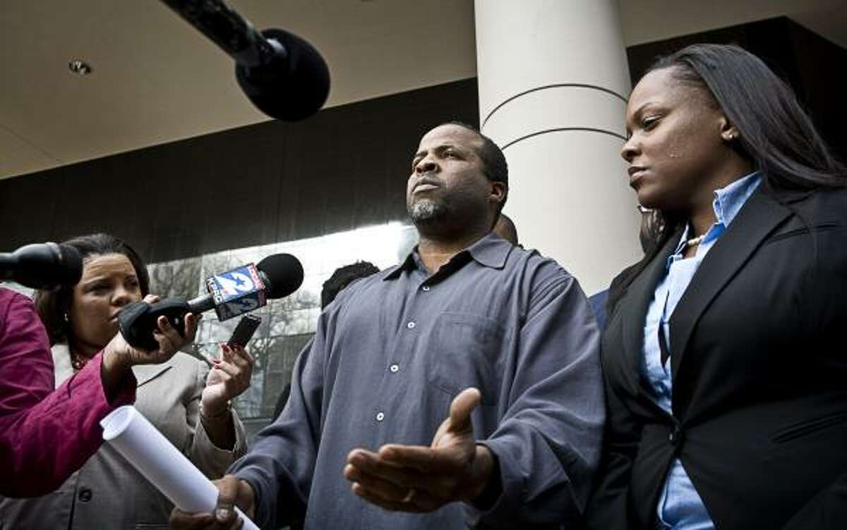 Waller County Justice of the Peace DeWayne Charleston criticized the Justice Department's response to the voting site dispute.