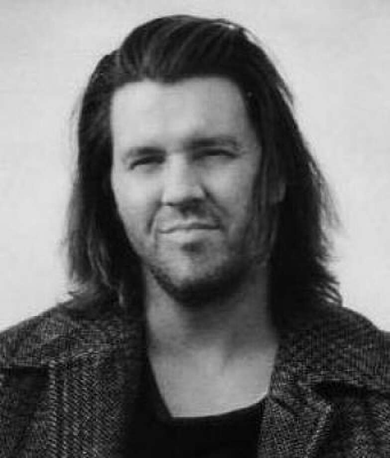 David Foster Wallace, shown in 2005, taught creative writing and English at Pomona College in California. Photo: Little Brown And Company