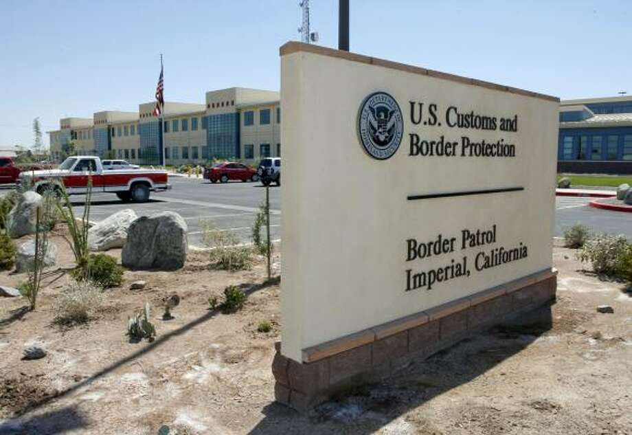 The U.S. Border Patrol's new sector headquarters boosts Imperial County, Calif. The agency's growth to more than 17,000 agents — nearly double from eight years ago — has swelled towns along the 1,952-mile border with Mexico. Photo: DENIS POROY, ASSOCIATED PRESS