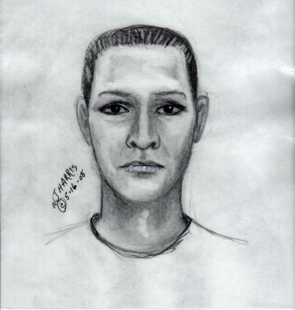 Fort Bend authorities are looking for two men they say robbed taco vendors. This is a sketch of one of two suspects police are seeking.