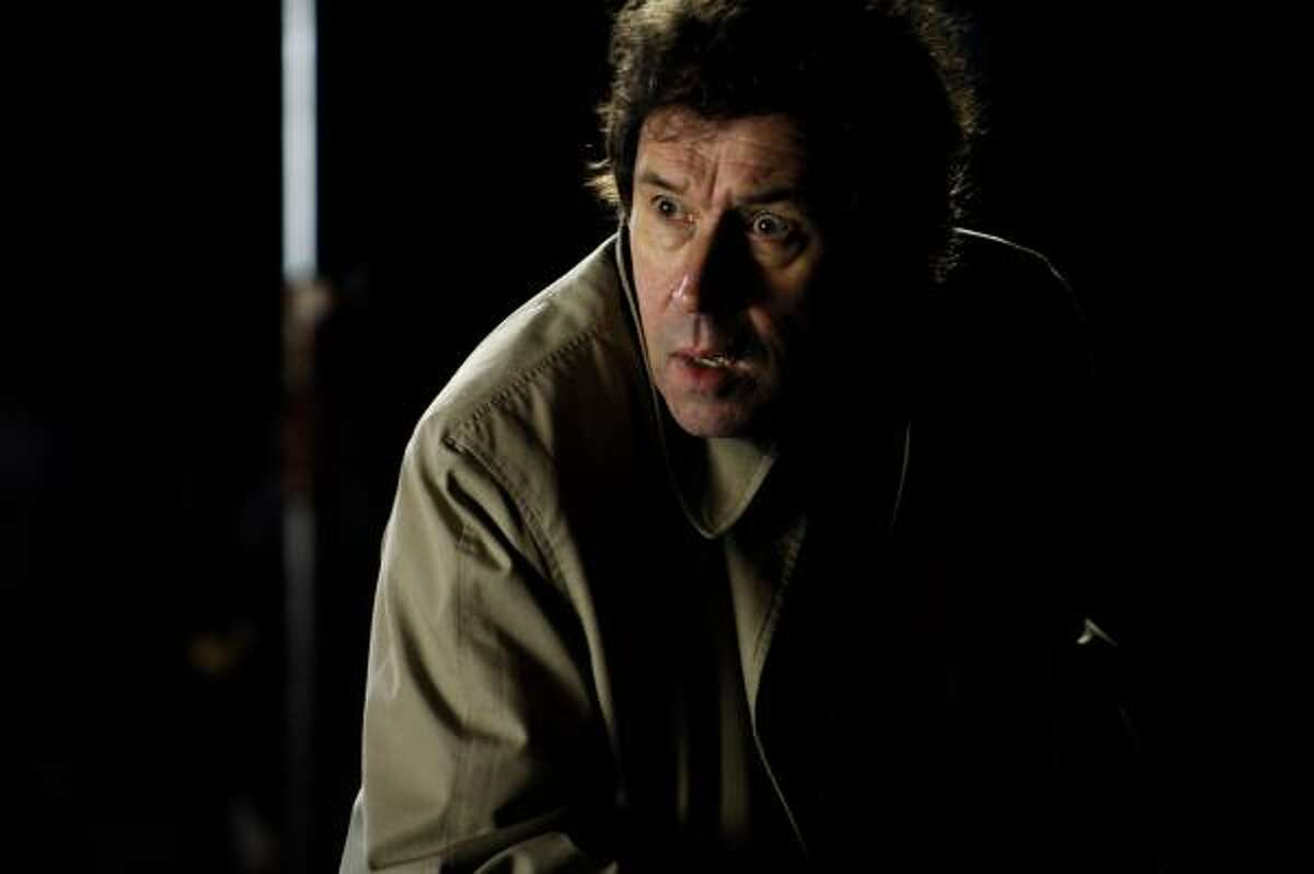 Stephen Rea stars in Stuck, a dark comedy loosely based on a real-life hit-and-run. ``It's appalling. But you can't help but laugh,'' Rea said.