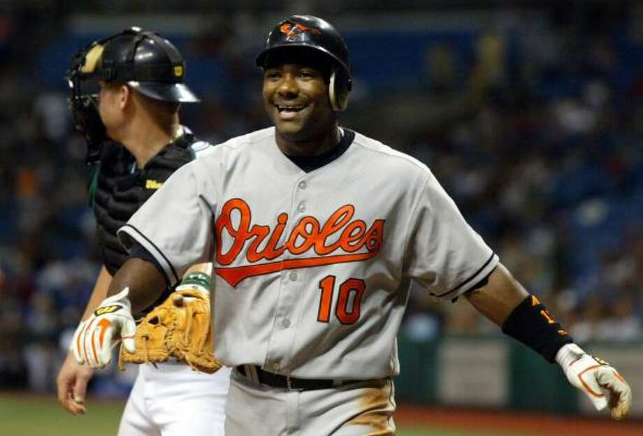 Miguel Tejada says he enjoyed his stay in Baltimore despite the lack of winning. Photo: SCOTT AUDETTE, ASSOCIATED PRESS