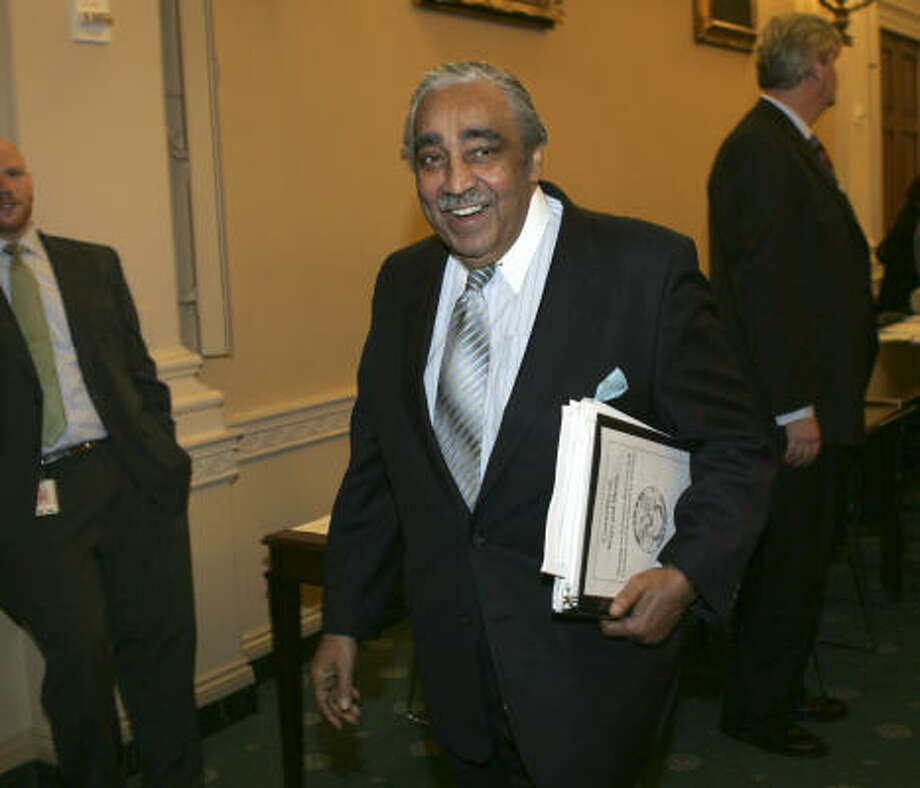 House Ways and Means Committee Chairman Rep. Charles Rangel, D-N.Y. Photo: Lawrence Jackson, Associated Press