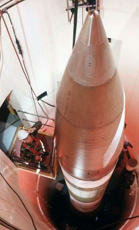 At the height of the Cold War, the plains of North Dakota housed 150 Minuteman III missile silos, with the Soviet Union being the prime target. Oscar Zero — the underground launch control center — has been preserved in the hope that the State Historical Society will one day reopen it as a museum. Photo: HANDOUT, U.S. AIR FORCE FILES