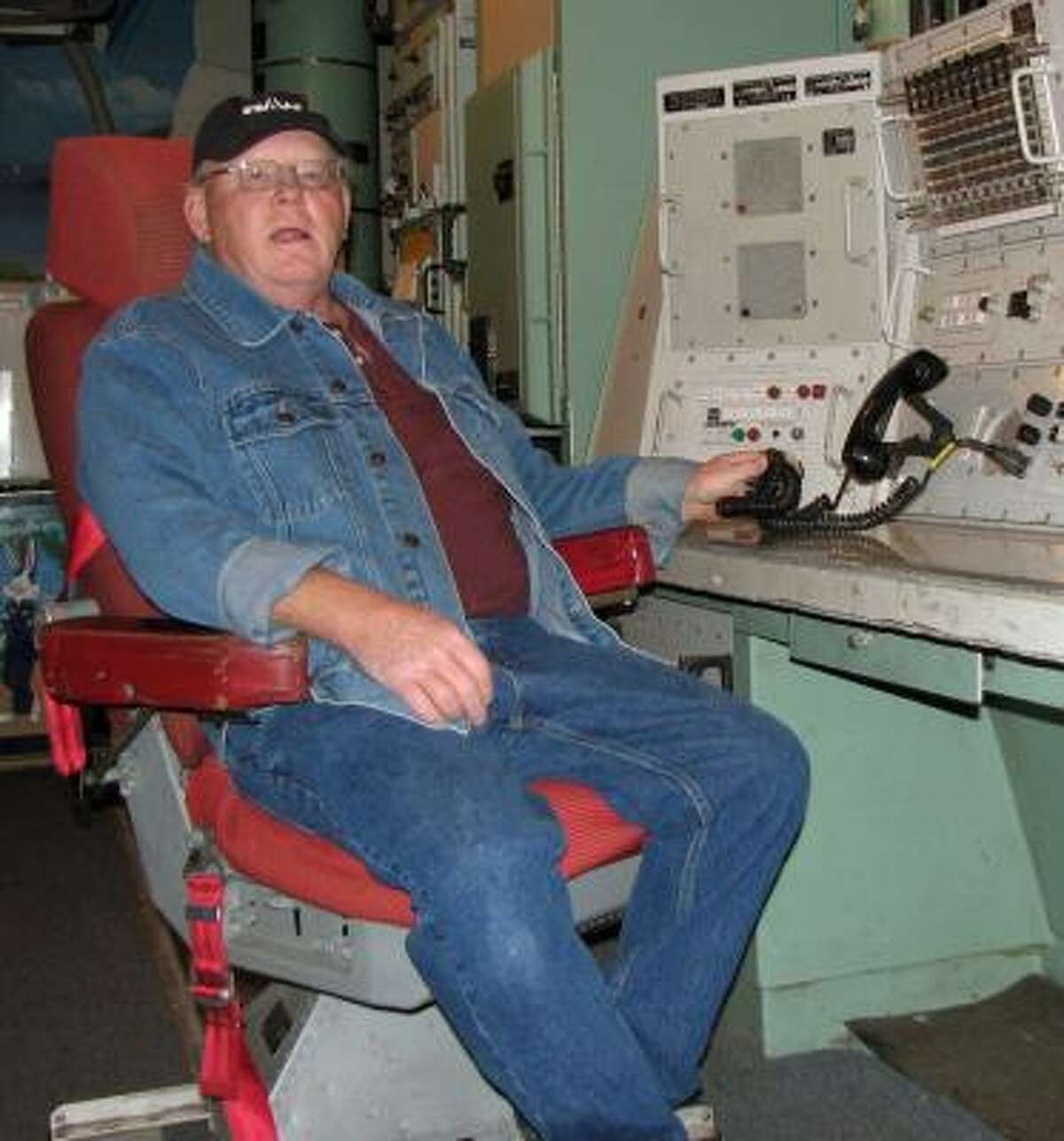 John Clark of Cooperstown, N.D., maintains Oscar Zero just as it was on July 17, 1997, the day it closed.