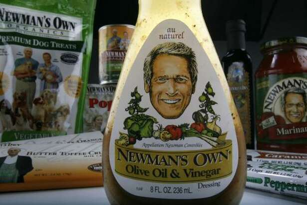 Newman's Own includes about 175 products, including the signature Olive Oil & Vinegar salad dressing.