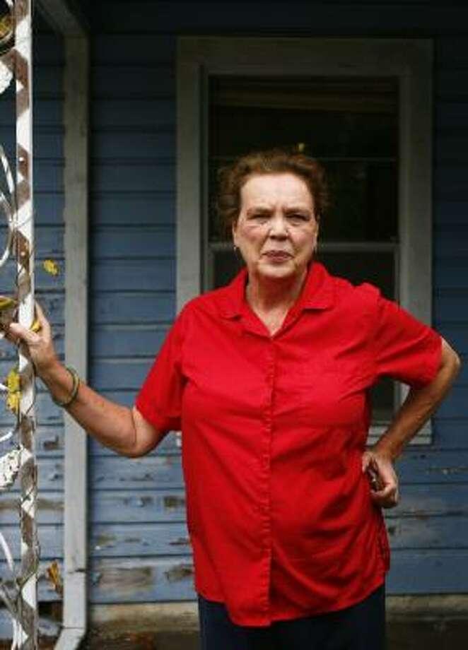 Marsha Farmer had spent nearly eight years combating mismanagement in a city-run, home repair program. Photo: MICHAEL PAULSEN, CHRONICLE