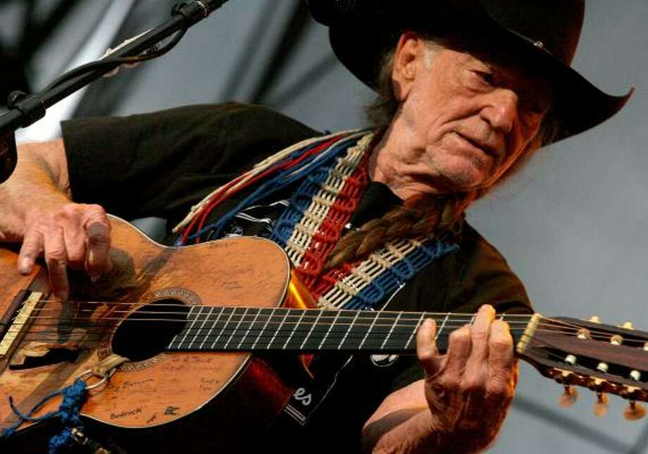 Part of Willie Nelson's appeal has been the lack of certainty about his life, including the exact date of his birth. Some sources say it's today, others say it's Wednesday. Photo: Bill Olive, For The Chronicle