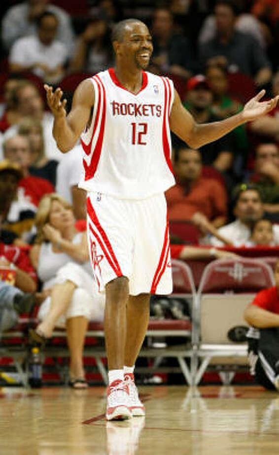 The point guard position could be the most pivotal one for the Rockets this season and floor general Rafer Alston knows it. Photo: Nick De La Torre, HOUSTON CHRONICLE