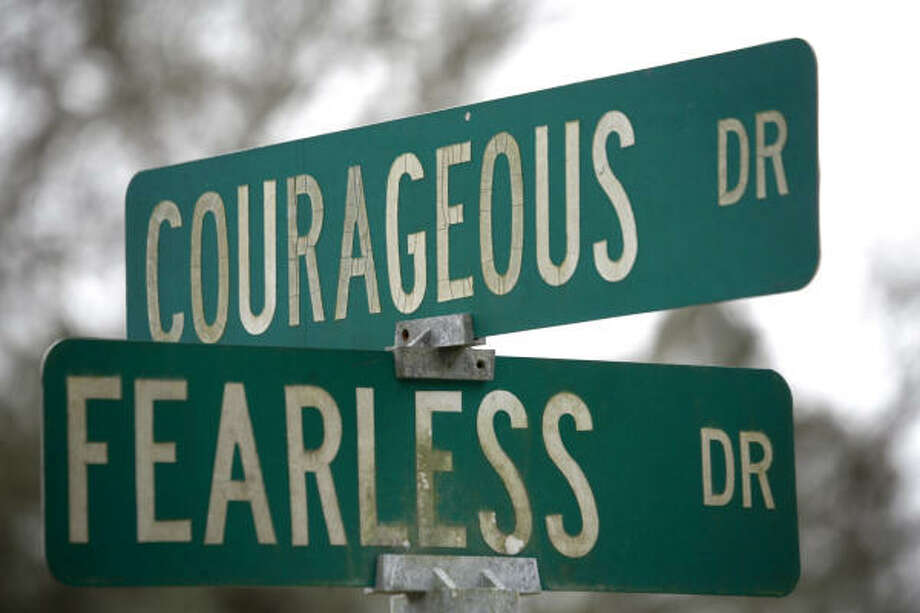 Courageous and Fearless, near Tomball. Photo: Steve Ueckert, Chronicle