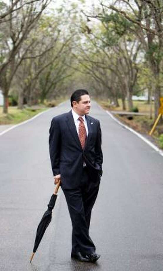 Council member James Rodriguez says he wants to do a good job for all Hispanics in the city, not just in his district. He hopes to work for a Latino summit to encourage others to seek office. Photo: NICK De La TORRE, CHRONICLE