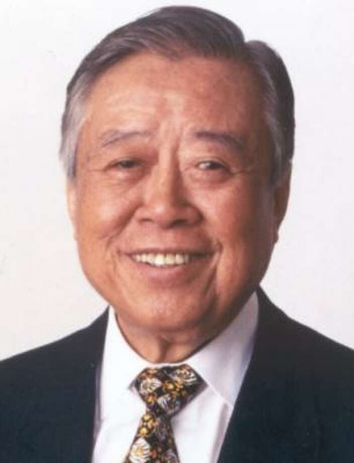 The Chemical Heritage Foundation presented Chao an award in 2005. Photo: FAMILY PHOTO