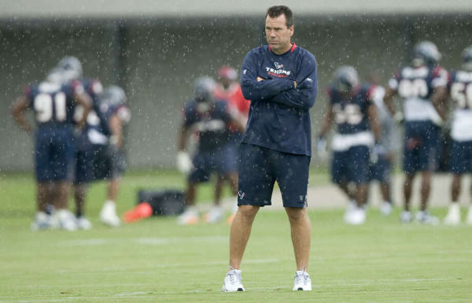 Houston Texans head coach Gary Kubiak may be heading into the most important game in Texans history this week against the Baltimore Ravens. Photo: Brett Coomer, Houston Chronicle