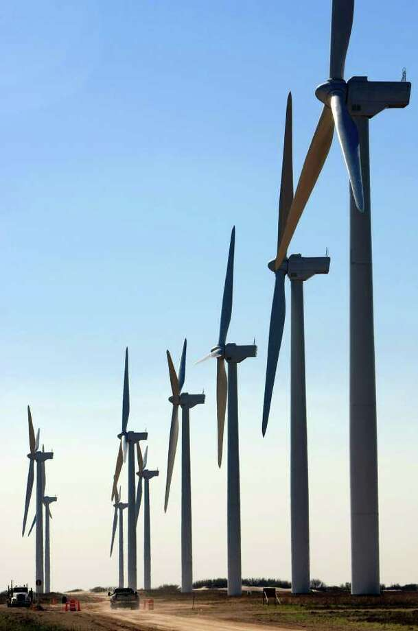 When the new project begins, most of CPS Energy's wind power will come from the Gulf Coast. Photo: Express-News File Photo / gferniz@express-news.net