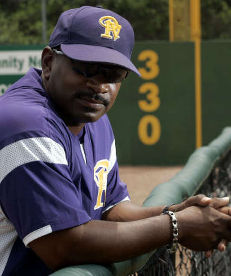 Michael Robertson resigned Monday as Prairie View A&M baseball coach after six seasons to accept the same position at Texas Southern University. Photo: Johnny Hanson, For The Chronicle