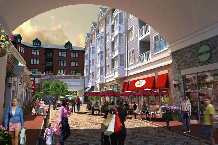 A rendering of the Norwalk Town Center project, a $200 million dollar initiative that replaces the Waypointe Project slated for Orchard and Merwin Streets. Photo: Contributed Photo