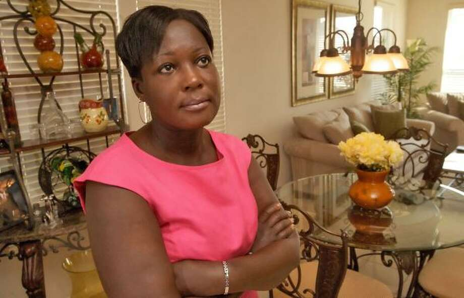 Nanette Lewis is suing two mortgage companies for alleged predatory loan practices when she refinanced her home. Photo: BILL OLIVE, FOR THE CHRONICLE