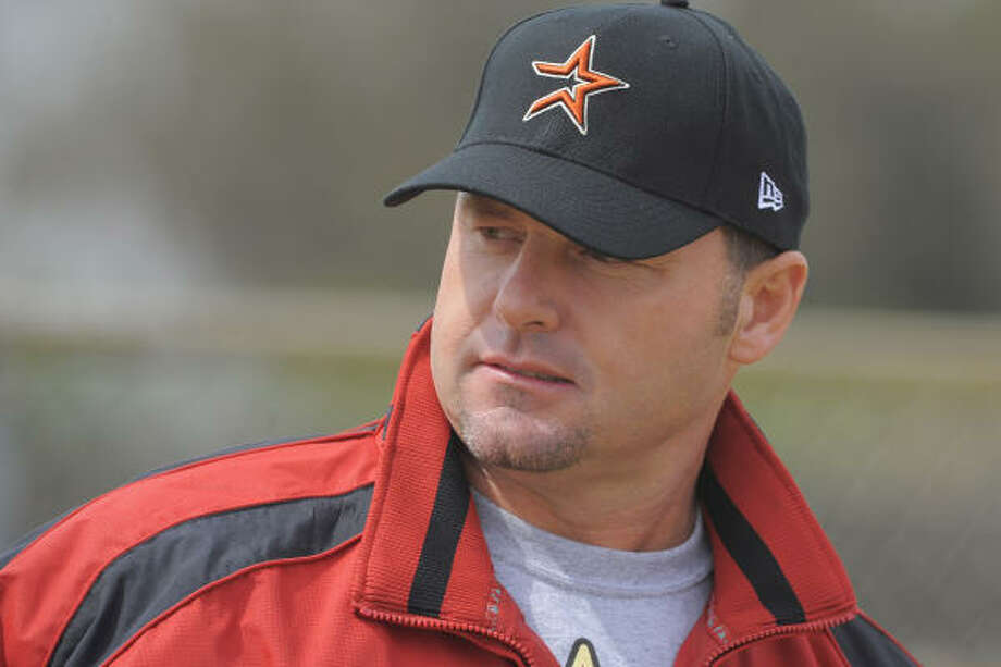 Roger Clemens is shown at the Astros spring training camp in Kissimmee, Fla., in this Feb. 27 file photo. Photo: Scott A. Miller, Getty Images