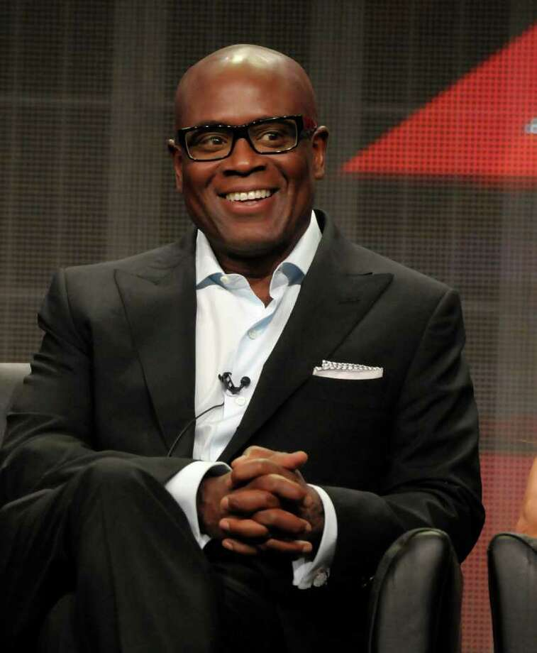 "Television personality L.A. Reid speaks during a panel at the The Television Critics Association 2011 Summer Press Tour in Beverly Hills, Calif. on Friday, Aug. 5, 2011. Reid is a judge in the television reality show ""The X Factor"" on FOX. Photo: AP"