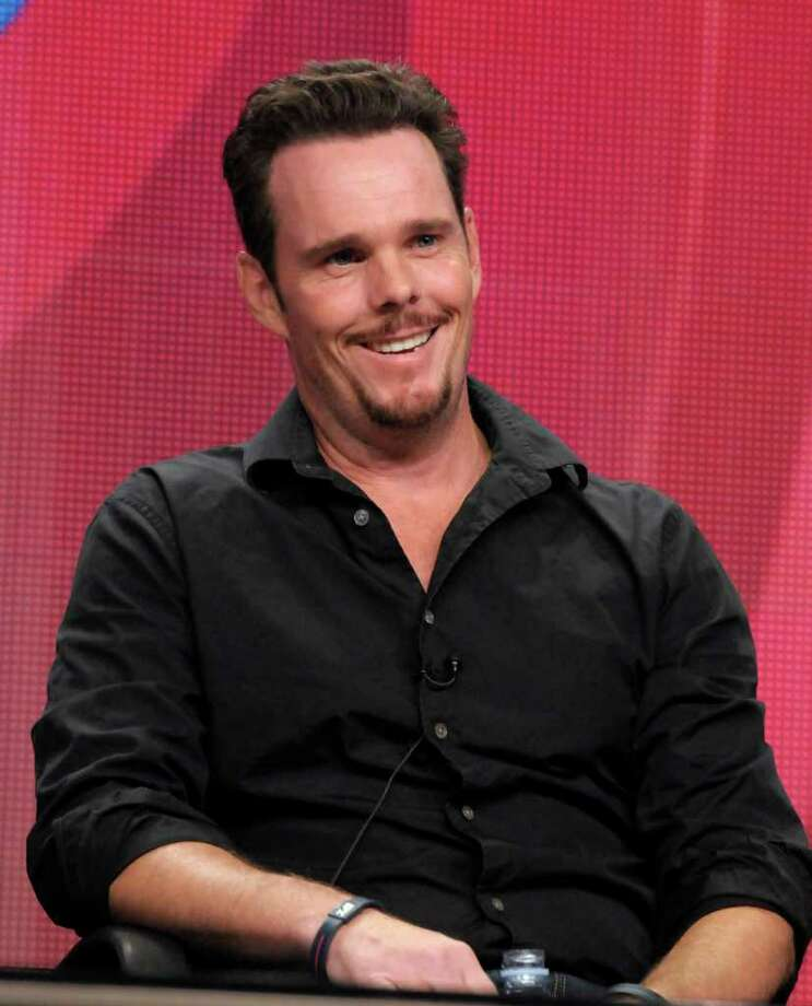 "Actor Kevin Dillon speaks during a panel at the The Television Critics Association 2011 Summer Press Tour in Beverly Hills, Calif. on Wednesday, Aug. 3, 2011. Kevin Dillon stars in the television series ""How to Be a Gentleman"" on CBS. Photo: AP"
