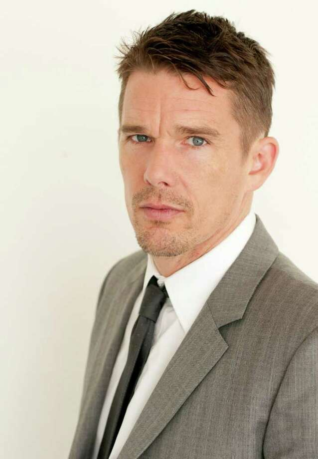 "Actor Ethan Hawke poses for a portrait during The Television Critics Association 2011 Summer Press Tour in Beverly Hills, Calif. on Friday, July 29, 2011. Hawke is starring in the upcoming two-part series ""Moby Dick"" on Encore. Photo: AP"