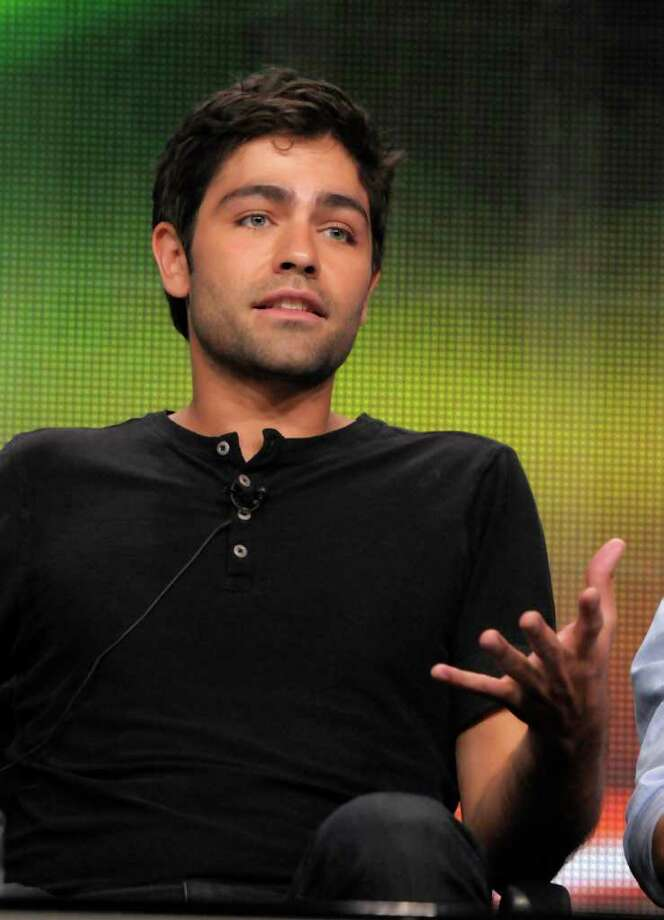 "Actor Adrian Grenier speaks during The Television Critics Association 2011 Summer Press Tour in Beverly Hills, Calif. on Thursday, July 28, 2011. Grenier stars in the series ""Entourage"" on HBO. Photo: AP"