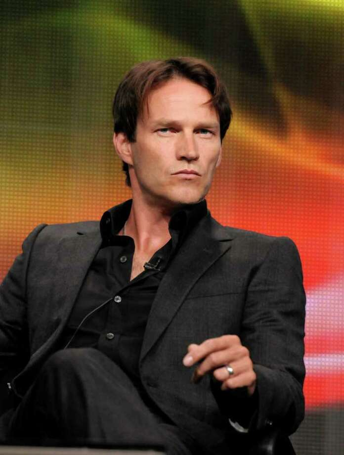 THE TRUE BLOOD TWINSNo names have been announced yet for the pair born this fall to Stephen Moyer and Anna Paquin from the HBO vampire drama. Photo: AP