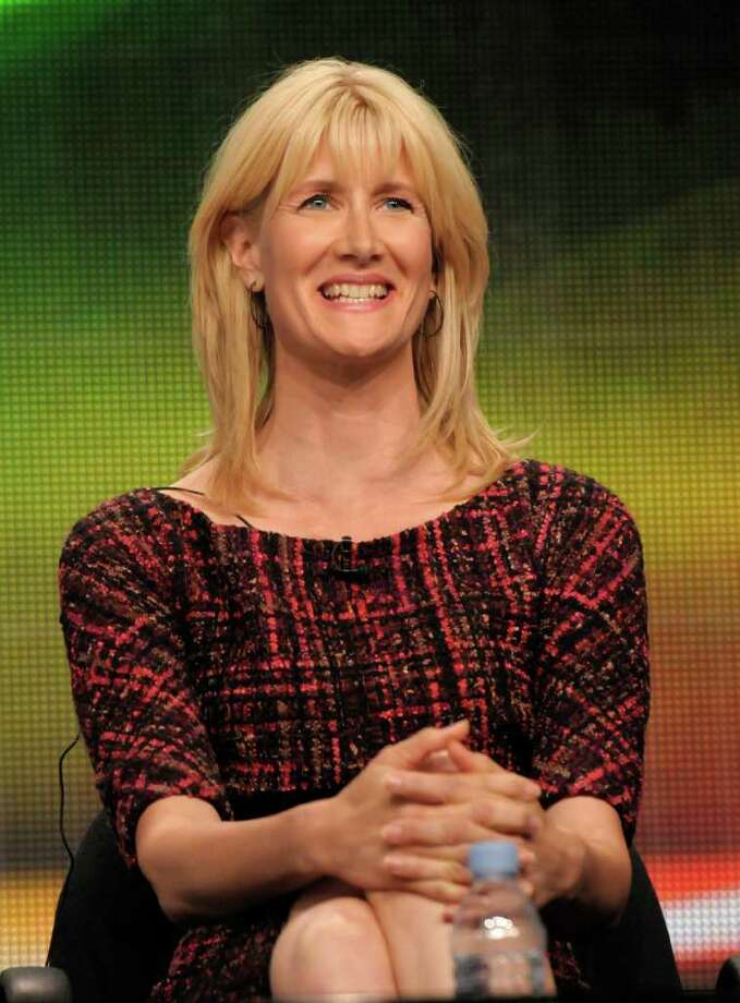 "Actress Laura Dern speaks during The Television Critics Association 2011 Summer Press Tour in Beverly Hills, Calif. on Thursday, July 28, 2011. Dern stars in the upcoming series ""Enlightened"" on HBO. Photo: AP"