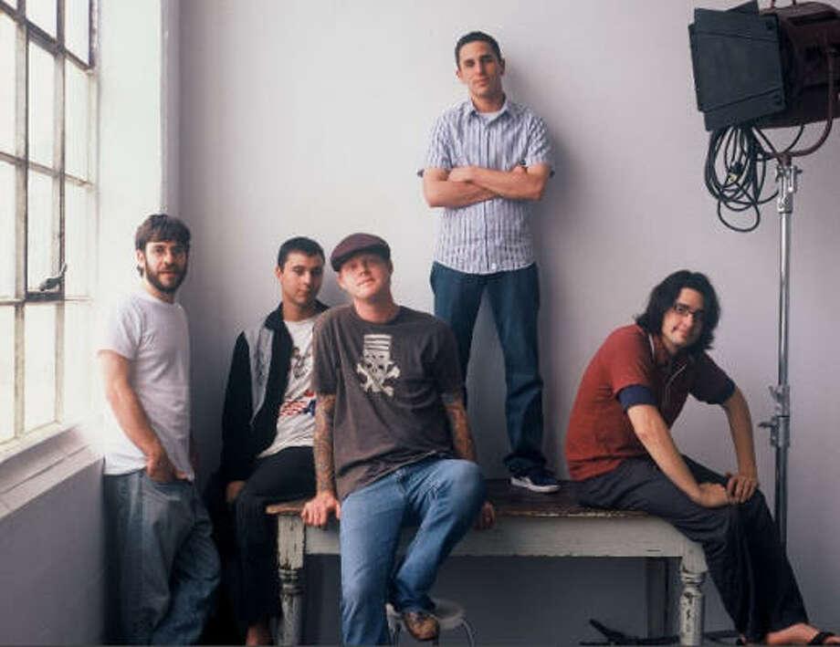 Plump is, from left, Doug Payne, Jason Jackson, James Yarbrough, Josh Matranga and Al Bear. Photo: Courtesy Photo