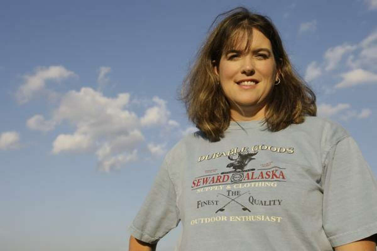 """""""Every time I talk about it, my blood boils,"""" says Ginger Hurley, who was almost barred from voting because a poll worker thought her T-shirt, which she bought on vacation last summer, was too political."""