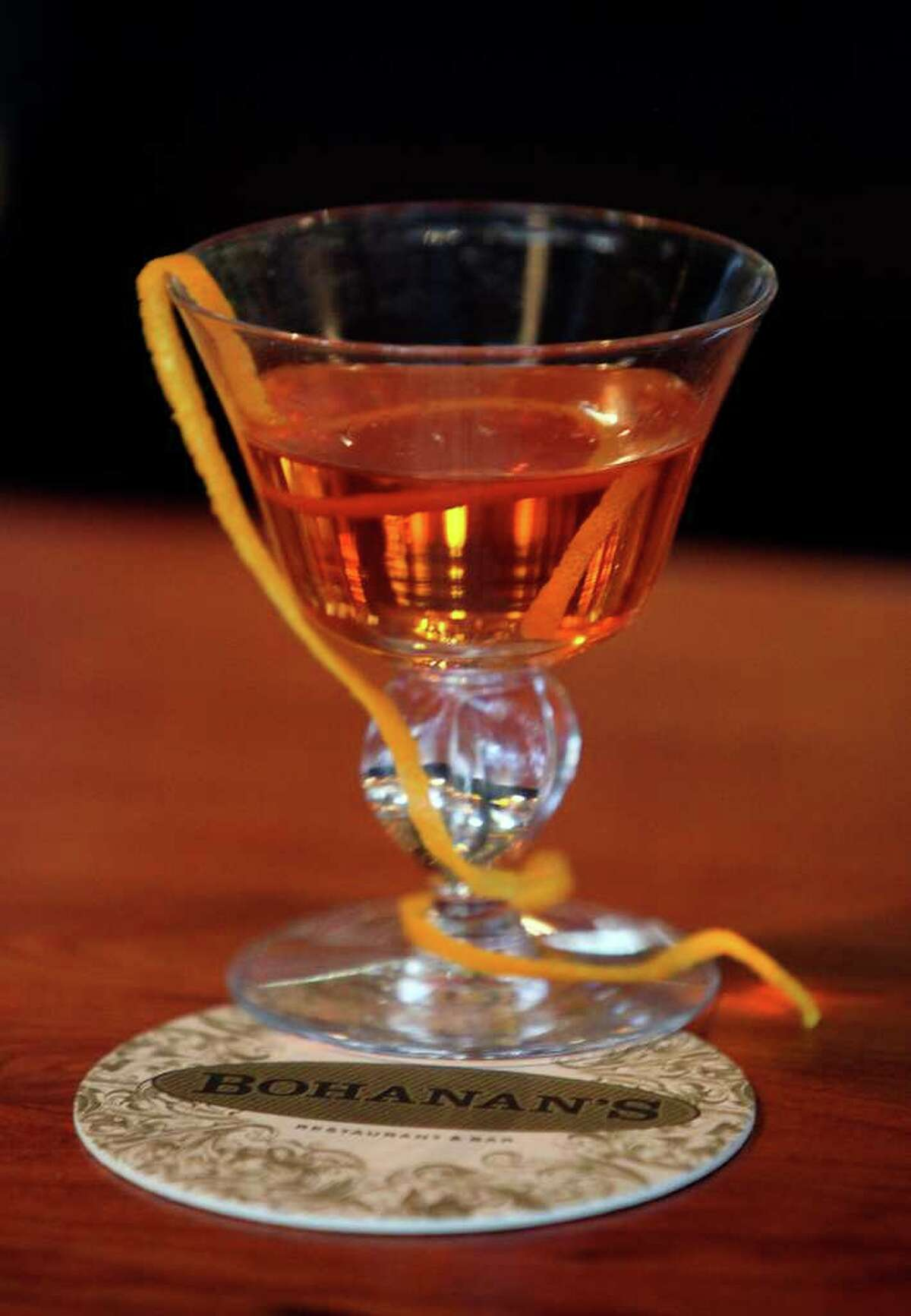 The Bar at Bohanan's staff plans to continue educating enthusiasts about classic cocktails, such as the sazerac.