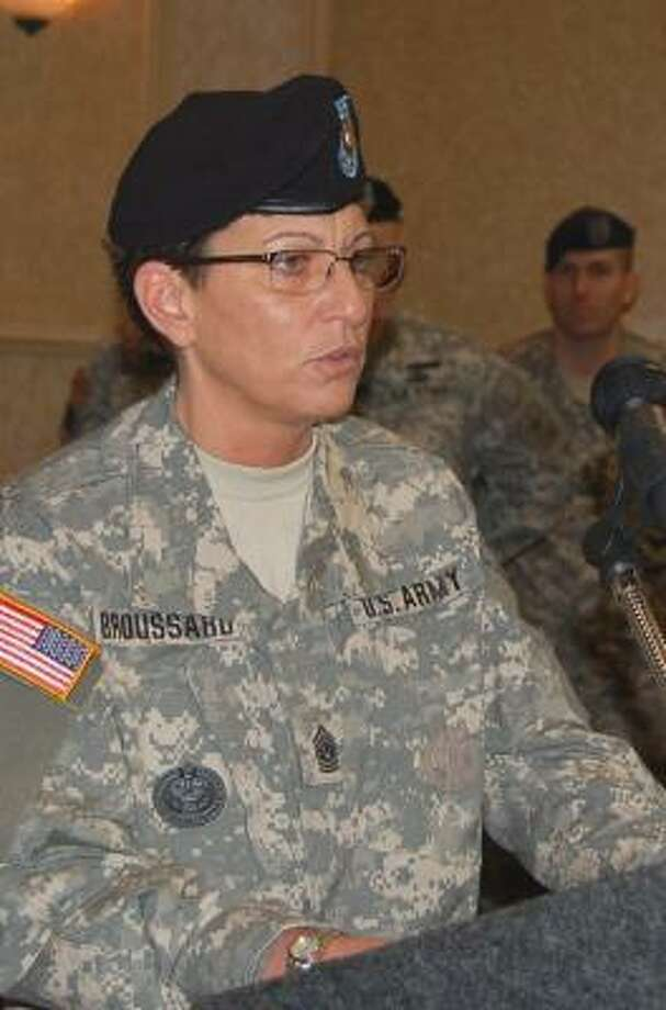 Cheryl Broussard says the Army still attracts highly qualified individuals. Photo: HANDOUT PHOTO