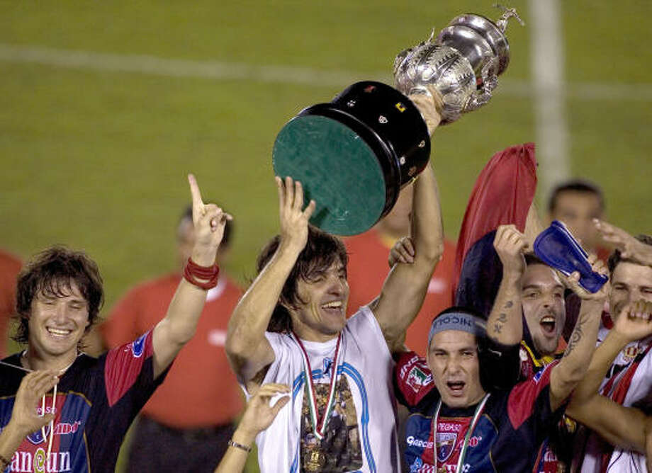 Mexican champion Atlante is among three teams that the Dynamo will face in SuperLiga round-robin action. Photo: Guillermo Arias, AP