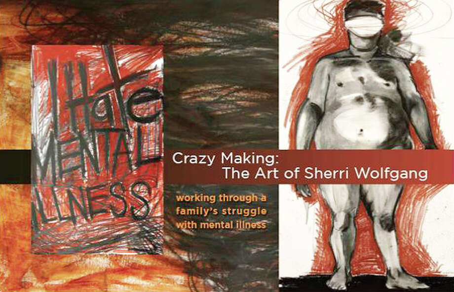 "Westport artist Sherri Wolfgang is having a solo exhibit ""CRAZY MAKING: The Art of Sherri Wolfgang"" starting August 24th and running until September 17, 2011 at The City Lights Gallery in Bridegport. The opening reception is Thursday, September 1st  from 5:30 to 8:30 pm. Photo: Contributed Photo / Westport News"
