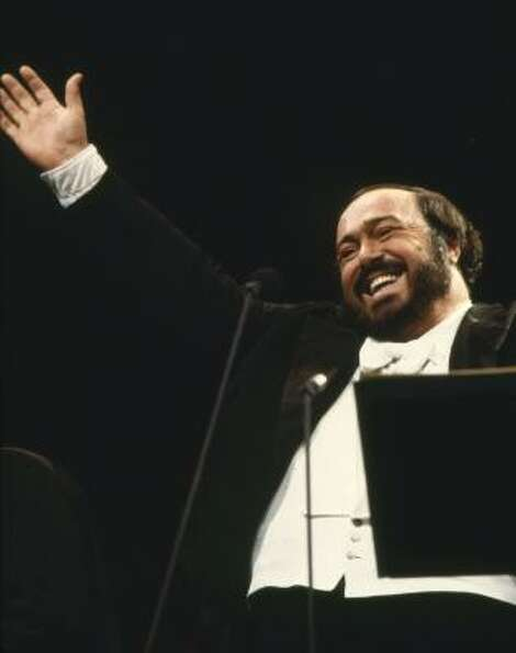 Even classical stars like Luciano Pavarotti