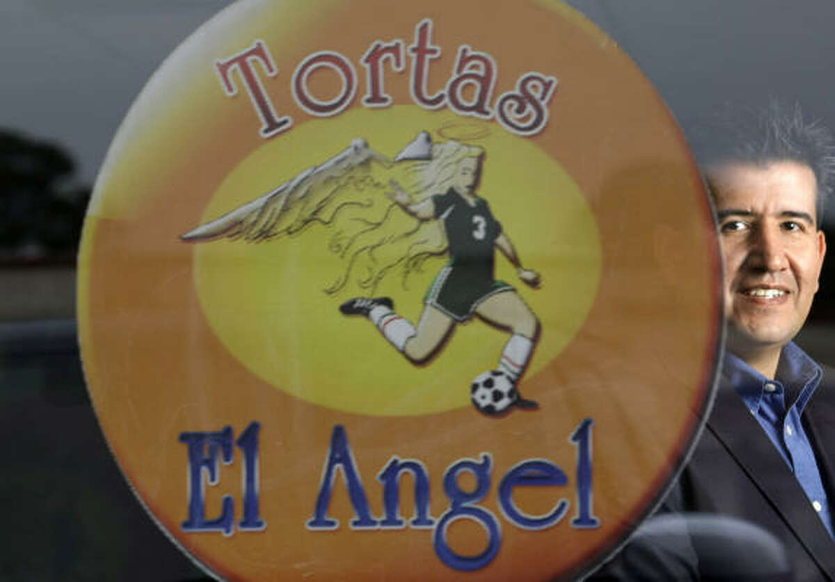 Rene Hidalgo is owner of the new Tortas El Angel, 1018 N. Shepherd Drive.